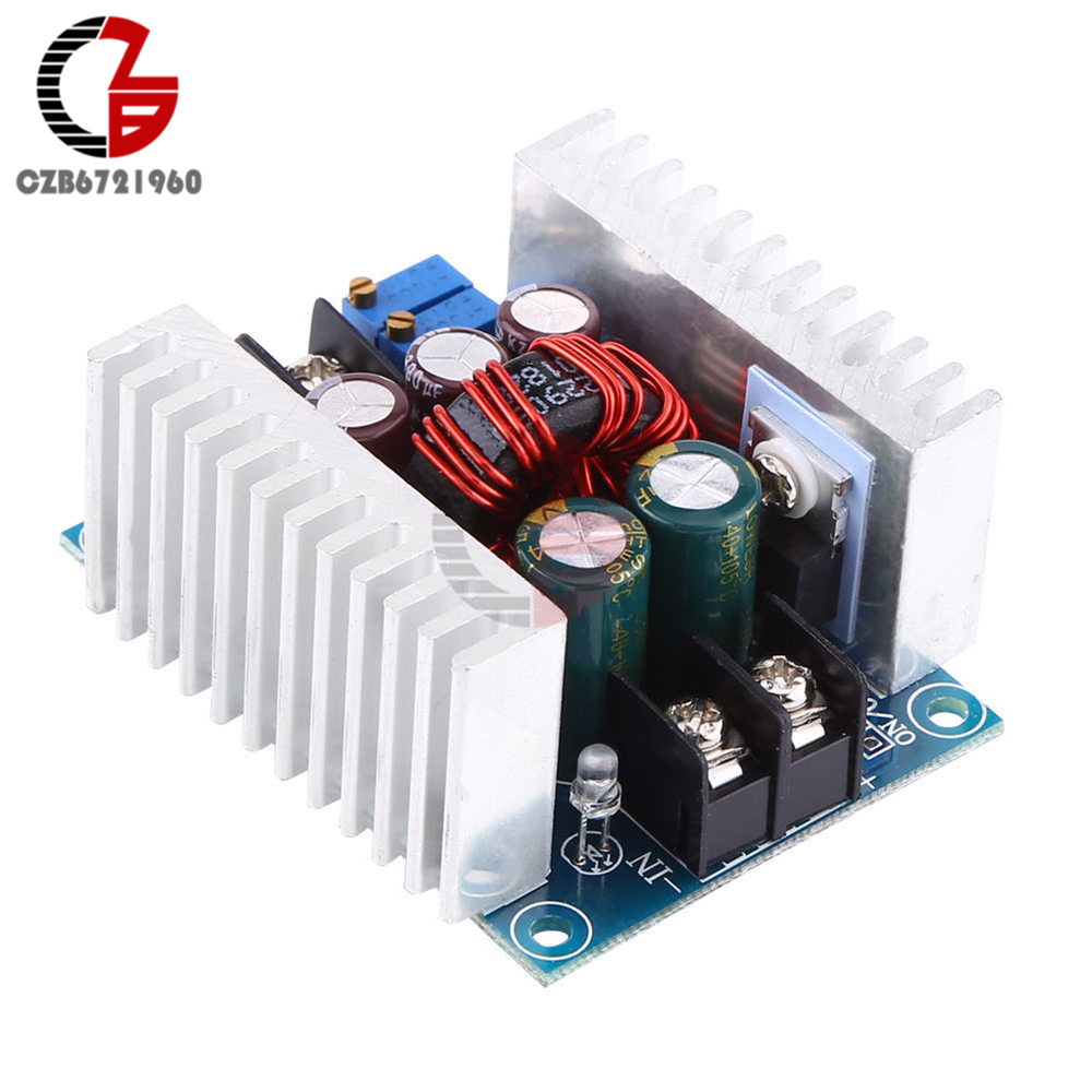 300W 20A DC-DC Adjustable Buck Converter Step-down Module Constant Current and Voltage LED Driver Power Step down Module 10a dc power adjustable step down dc constant voltage constant current power supply module lcd screen