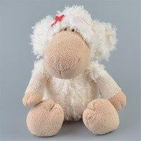 35 cm knuffel schapen leuke cartoon creatieve wees ster gevulde sussen pop lam Valentijn verjaardag kerstcadeau