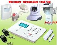 Беспроводная GSM 3g SMS Охранная система охранной сигнализации для дома