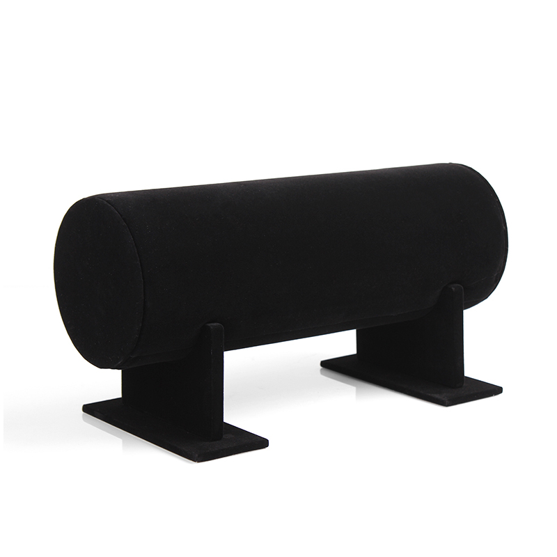 High Quality 36x11cm Black Velvet HairBand Holder Retail Shop Jewelry Display Stand Headband Organizer Rack Free shipping