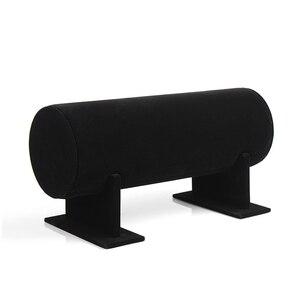 High Quality 36x11cm Black Vel