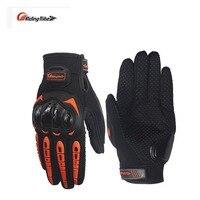 Riding Tribe Men Cycling Racing Summer Motocross Moto Glove Motorbike Full Finger Motocicleta Guantes Luvas Motorcycle