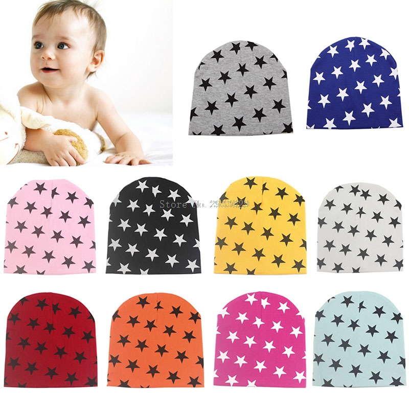 Kids Baby Cotton Beanie Soft Girl Boy Knit Hat Toddler Infant Kid Newborn Cap -B116