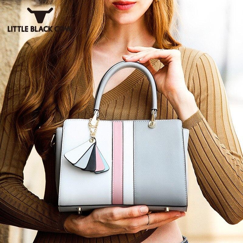 High Quality Brand Women Handbag Fashion Match Color Crossbody Bag Female Business Casual Tote Bag Original Leather Shoulder Bag все цены