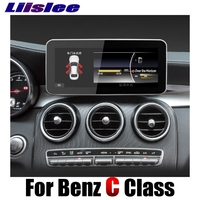 Liislee Car Multimedia Player NAVI For Mercedes Benz MB C Class W205 2014~2018 Accessories Car Radio Stereo wifi GPS Navigation