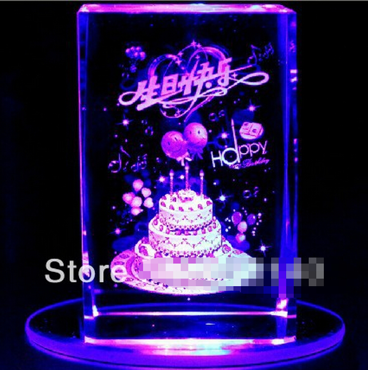 WBY 812 Girls boyfriend birthday gift ideas crystal ball music