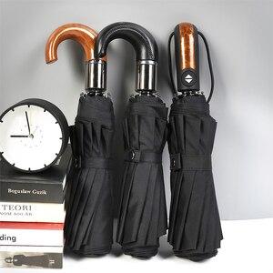 Image 2 - Rüzgara dayanıklı Otomatik Kompakt Şemsiye Yağmur Kadınlar Erkekler Şemsiye Rüzgar Geçirmez Büyük uv Seyahat Otomatik katlanır şemsiyeler Erkek paraguas