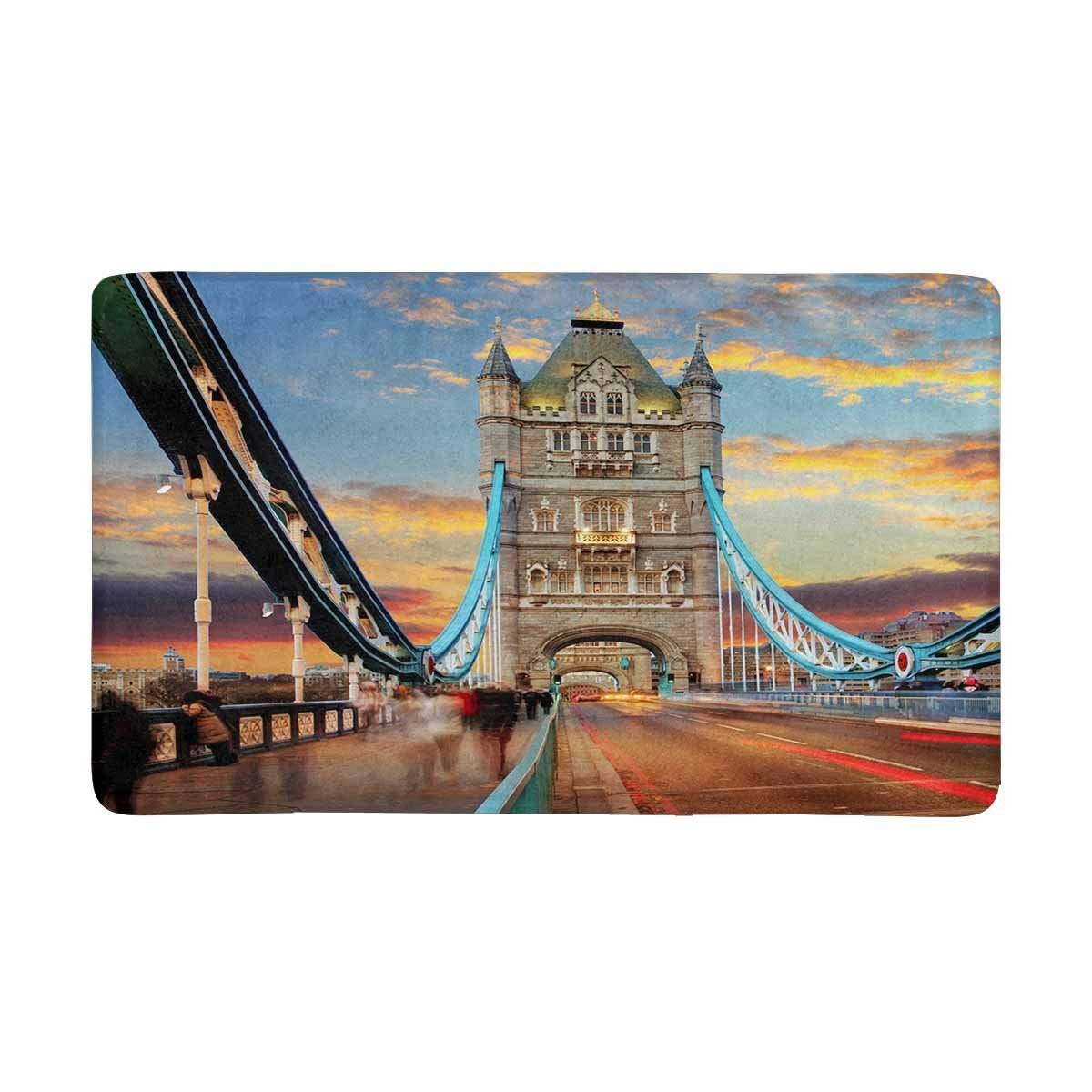 London Tower Bridge Indoor Entrance Doormat In Mat From
