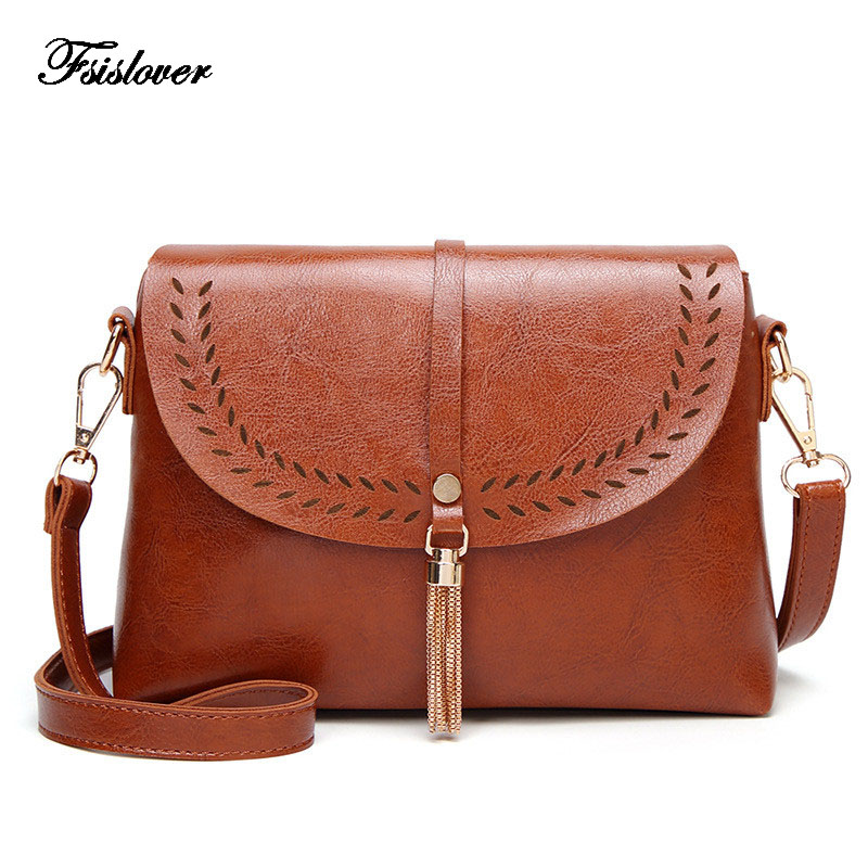 Bags For Women 2019 Vintage Tassel Crossbody Bags For Girls Shoulder Bags Female Designer Handbags Bolsa Feminina Bolsos Muje