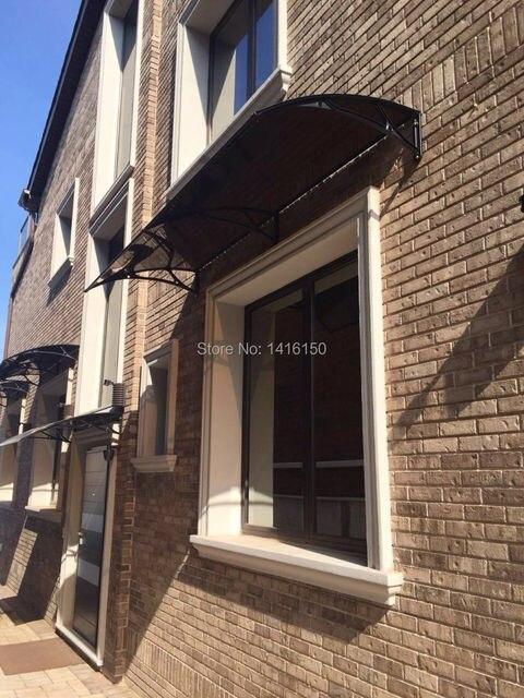 Home Door Window Balcony Use Canopy Rain AwningPolycarbonate & DS100200 A100x200CM.Home Door Window Balcony Use Canopy Rain Awning ...