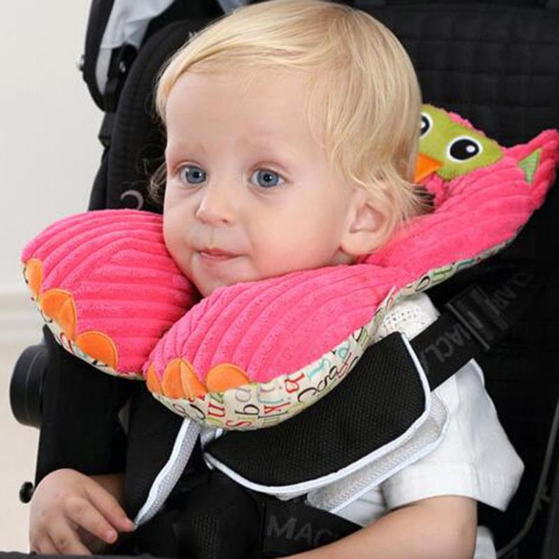 1-6 years baby head support Protection pillow U-Shape travel pillow Neck Pillow carseat cushions toys adjustable neck pillow A5 u miss functional inflatable neck pillow inflatable u shaped travel pillow car head neck rest air cushion for travel neck pillow