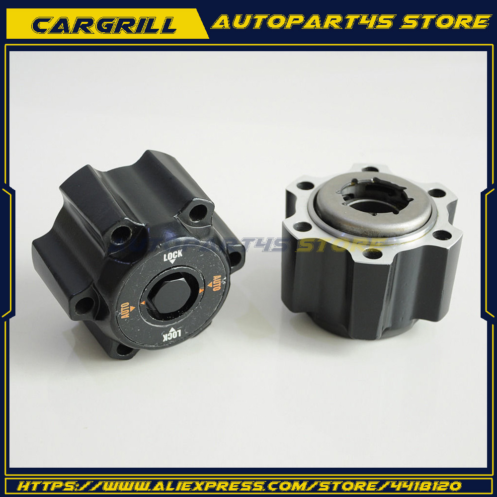 2 piece x For Nissan Safari GU Y61 New Automatic Free wheel locking hubs B017 40250-VB200 40250VB200 цена