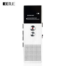 BENJIE C6 Portable MP3 Player Metal Lossless Music Player Digital Audio Recorder with Built-in Speaker FM Radio