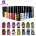 Sello polaco kads 1 botellas/lot nail polish & sello polaco nail art pen 30 colores Opcionales 10 ml Más atractivo 4 estaciones