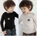 spring and autumn winter children clothes boys T-Shirt child clothing free shipping