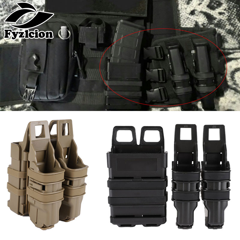 Hunting Airsoft  Fast Mag Pistol Magazine Pouch Military Gun Magazine Holster Tactical Plastic Mag Pouch