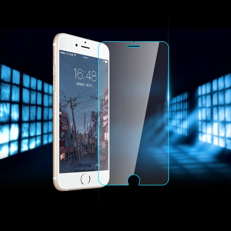 Top quality 9H 0.26mm Screen Protection Tempered Glass Toughened Membrane For iPhone4 5 5s 6 SE 6s 7 Plus and for iphone 7 plus