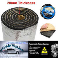 Vehicles Car Noise Sound Proofing Deadening Insulation 100*50*2cm Silver Sound Insulation Foam Aluminum Foil Rubber