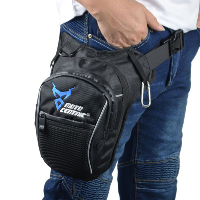 Homens à prova dwaterproof água oxford cintura gota perna saco coxa hip bum cinto fanny pacote casual bolsa de ombro motocicleta passeio ao ar livre correndo esporte