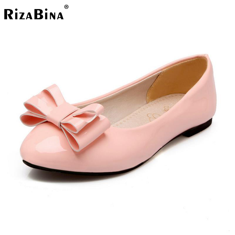 RizaBina Size 30-50 Women Flats Shoes Women Bowtie Square Toe Bowtie Flats Shoes Sexy Party Dating Vacation Office Lady Footwear pepper schwartz dating after 50 for dummies
