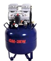 One Driving Two 32L Noiseless Oilless Dental Air Compressor