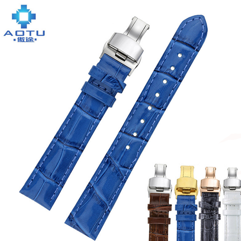 Genuine Leather Watch Strap For Tissot 1853 T099/T063/t055 Women Watch Band 16mm Leather Watch Strap For Ladies Bracelet Belt tissot t063 637 16 037 00