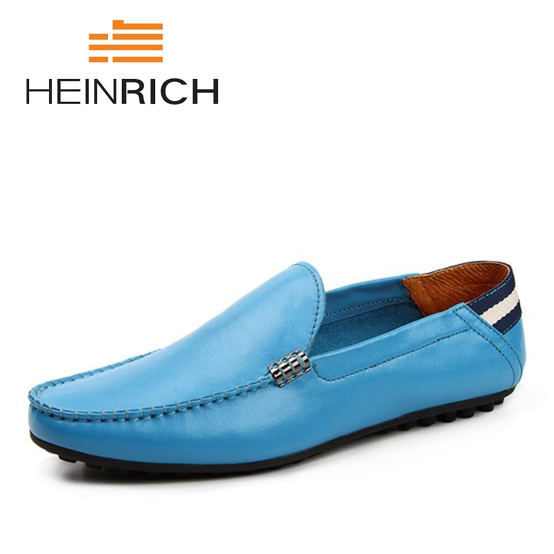 HEINRICH New Arrival Men Casual Shoes Fashion Slip On Round Toe Breathable Loafer Flats Shoes Zapatillas Casual Hombre mycolen spring autumn 2018 new fashion round toe casual shoes men breathable lace up flats men casual shoes zapatillas hombre
