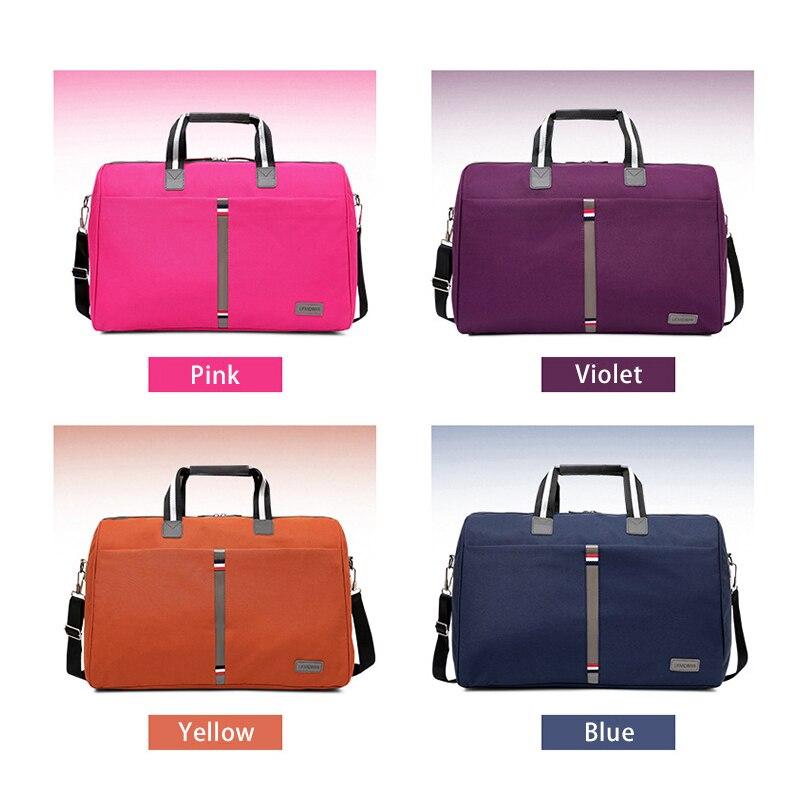 2018 Foldable portable shoulder bags Waterproof Men's Travel bag Travel luggage large capacity Travel Tote Women More color 2