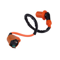 New Racing Ignition Coil Gy6 50cc 125cc 150cc 250cc Scooter Moped High Performance Ignition Coil Free