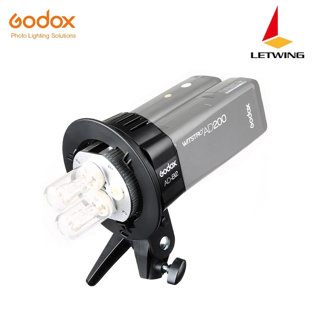 Auf Lager Neue Ankunft!!! Godox AD B2 Zwei Doppel Licht Kopf Halterung für AD200 Tragbare Flash Speedlite-in Blitz-Zubehör aus Verbraucherelektronik bei AliExpress - 11.11_Doppel-11Tag der Singles 1