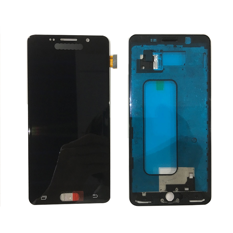A510 Tested <font><b>LCD</b></font> For <font><b>Samsung</b></font> Galaxy A5 2016 A510 A510M A5100 Display with Frame Assembly Replacement image
