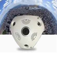 1.3MP 1280×960 Full HD WIFI 360 панорамный Fisheye Cam видеонаблюдения IP Камера безопасности ИК ночного видения Filmadora видеокамера
