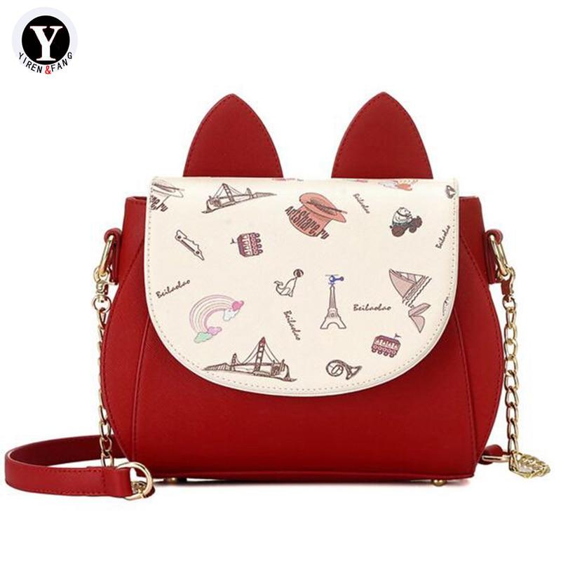Yirenfang Crossbody Väskor För Kvinnor Messenger Väskor Designer - Handväskor