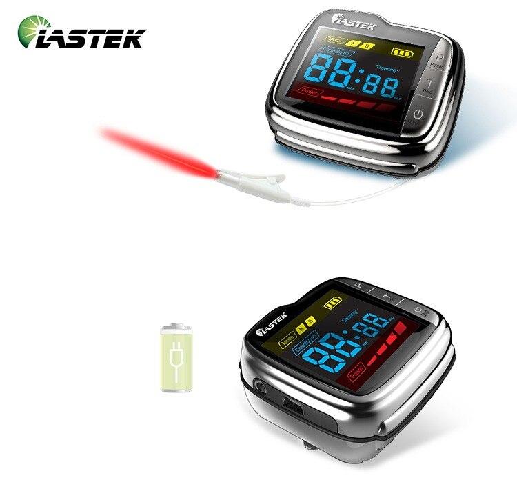 Poignet laser thérapie dispositif pour réduire la pression artérielle et haute sang suger