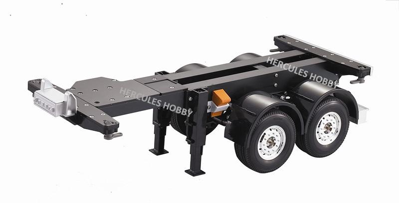 Tractor Trailer Truck Accessories : Hercules hobby tamiya tractor truck trailer scale