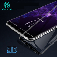 NILLKIN DS 最大保護三星銀河 S9/S9 プラス/注 9/注 8 9D 安全強化ガラス 5.8/6.2/6.32/6.4
