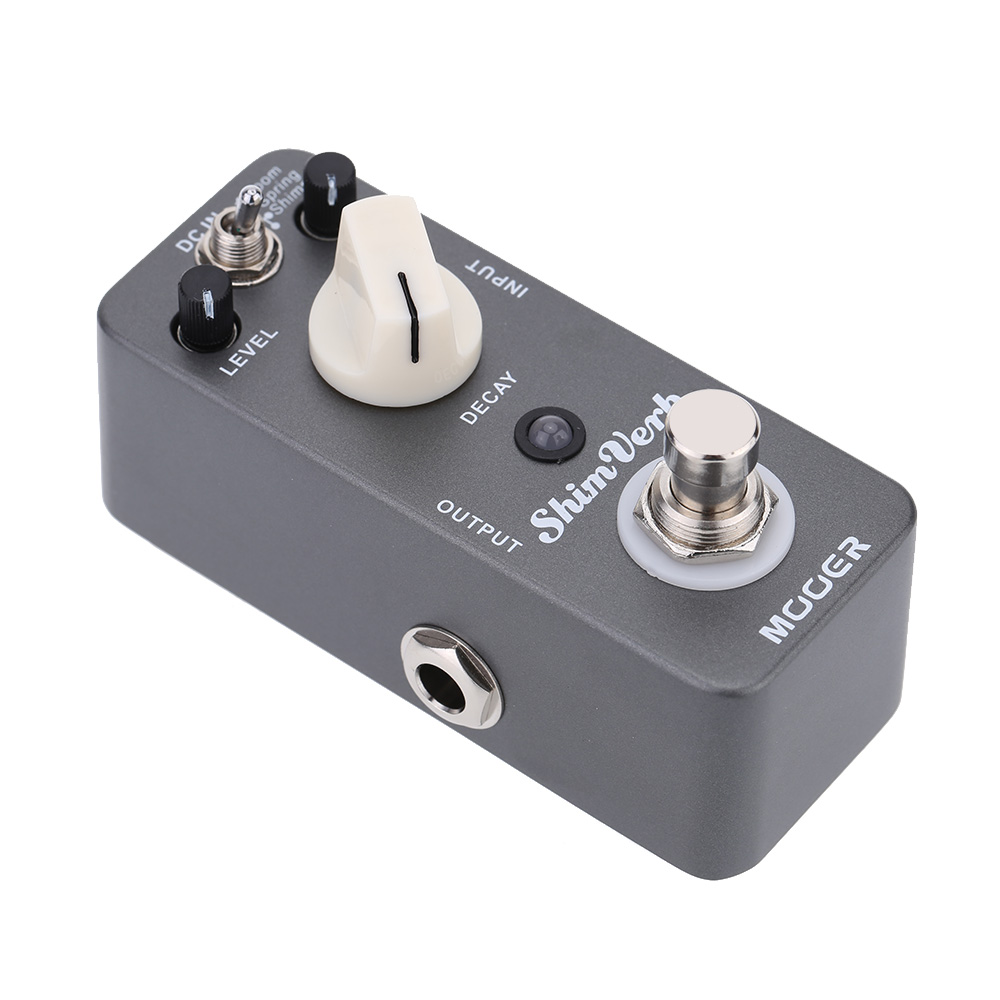 Mooer Shim Verb Micro Mini Digital Reverb Effect Pedal for Electric Guitar True Bypass High Quality