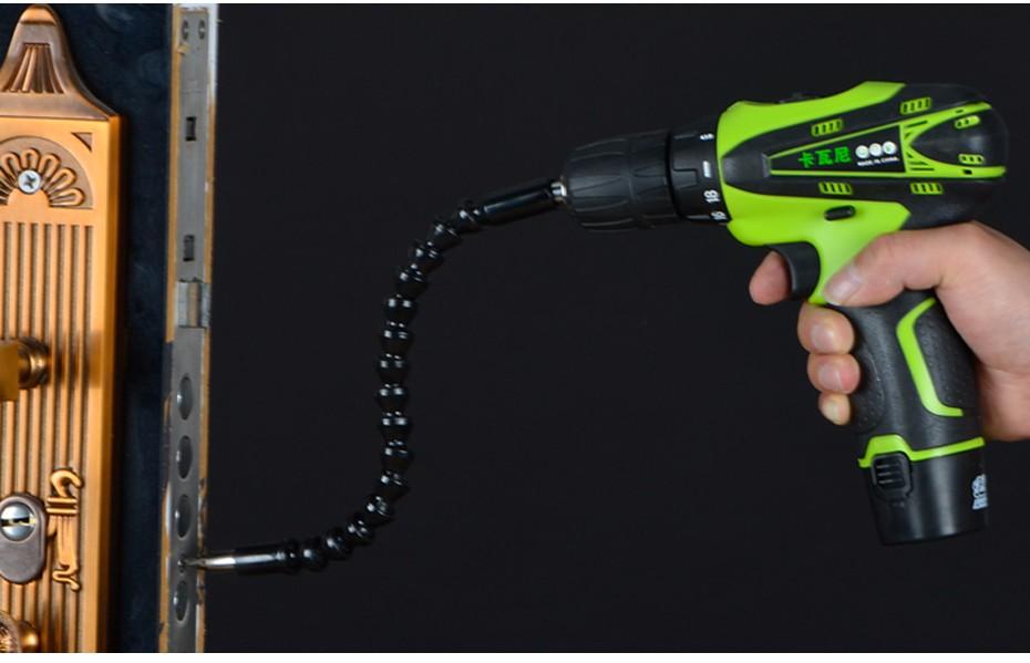 Купить 12 В Аккумуляторная Дрель-Шуруповерт Аккумуляторная Li-батареи Электрический Дрель Шуруповерт Мощный Инструмент Herramientas Electricas Мини Дрель дешево