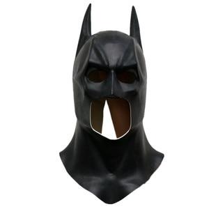 Image 2 - Batman Cosplay Kostuum Masker Helm Bruce Manier Superheld Grappige Masker Latex Volledige Gezicht Apex Oren Volwassen Maskers Prop Halloween Party mannen