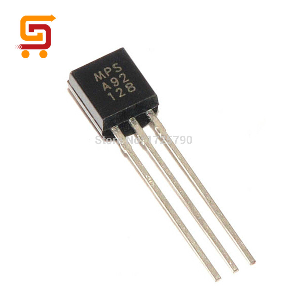 100Pcs A92 MPSA92 TO-92 PNP General Purpose Switching Transistor For DIY