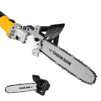 Multifunction Electric Chain Saw For 12'' Electric Angle Woodworking
