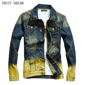 Men's Denim Slim Jackets Autum