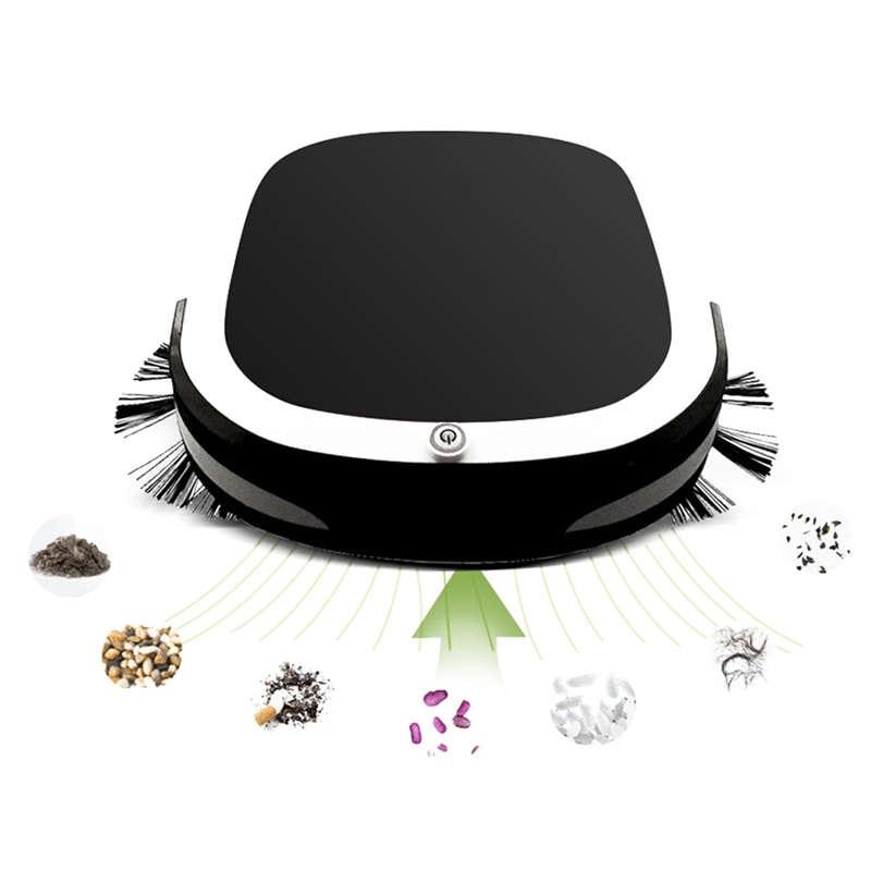 -usb Plug Usb Eléctrico Recargable Sin Barredora Automática Robot Aspiradora Robot Fregona De Limpieza Del Hogar El Piso