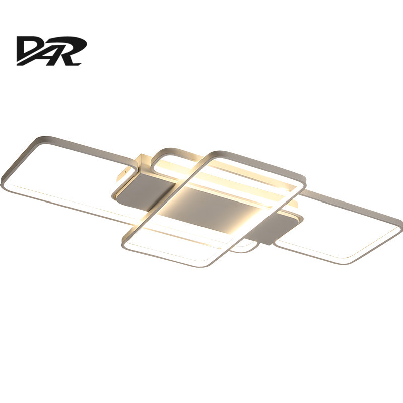 White Square Ceiling Lamps For Living Dining Room Bedroom Lights Modern Led Ceiling Lamp With Remote Control Lamparas De Techo hot free shipping modern led ceiling lights for living room bedroom abajur dimmable remote control lamparas de techo