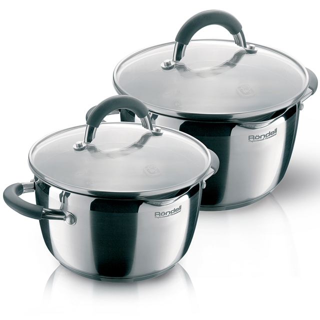 Набор посуды Rondell Flamme  RDS-339 4 предметов