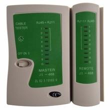 Профессиональный RJ45 rj11cat5 CAT6 LAN Кабельный тестер Ручной сетевой кабель тестер Провода телефонной линии детектор Tracker tool kit
