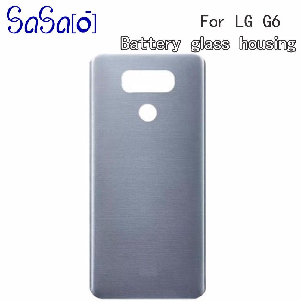 Запасные части для заднего стекла для LG G6 H870 H871 H872 H873 LS993, Крышка батарейного отсека, задняя крышка корпуса 5 шт./лот|Корпусы и рамки для мобильных телефонов| | АлиЭкспресс