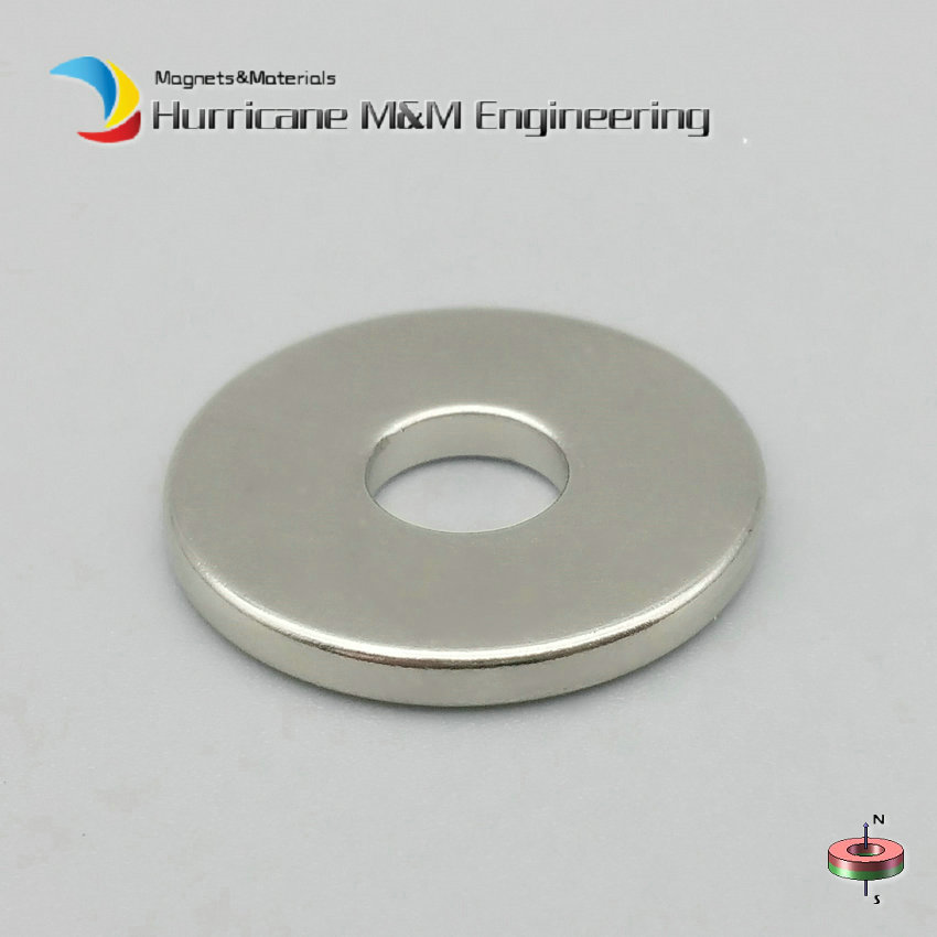 1Pack NdFeB Magnet Ring Dia 18.5x6x2 mm N42M 100 degree C Thin Axially Magnetized Strong Neodymium Permanent Rare Earth Magnets 1 pack grade n38 ndfeb micro ring diameter od 9 5x4x0 95 mm 0 37 strong axially magnetized nicuni coated rare earth magnet