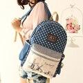 Nueva Moda Mujeres Niños Mochila mochilas Escolares Los Niños Mochila de Lona Femenina Agradable Cómodo Mochilas para Adolescentes Chicas
