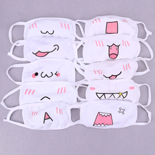 1PC Kawaii Anti Dust Mask Cotton Mouth Mask Cute Anime Cartoon Mouth Muffle Face Mask Emoticon Masque Masks